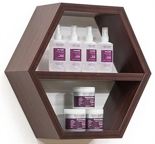 Honeycomb Shelving Unit For Wall Mounted Use