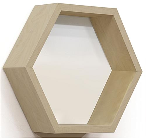 Honeycomb Hexagonal Shelving for Larger Products