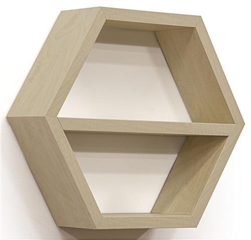Modern Honeycomb Hexagonal Shelving