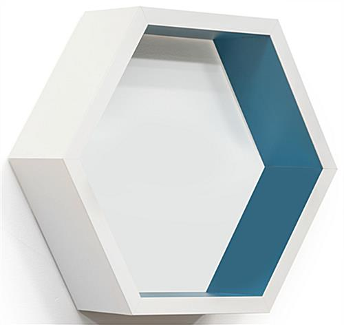 Hexagonal Shelving Unit for Larger Products