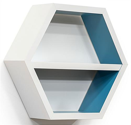 "20"" Wide Hexagonal Shelving Unit"