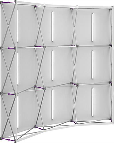 Portable Backlit Pop Up Fabric Wall