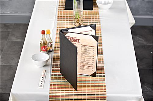Black Restaurant Menu Books