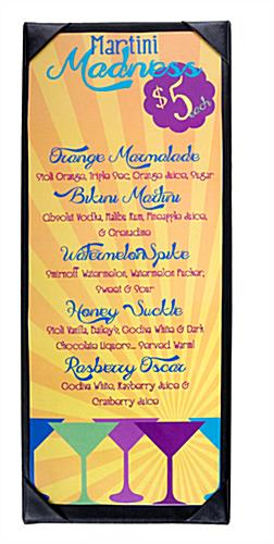 Wine Menu Covers