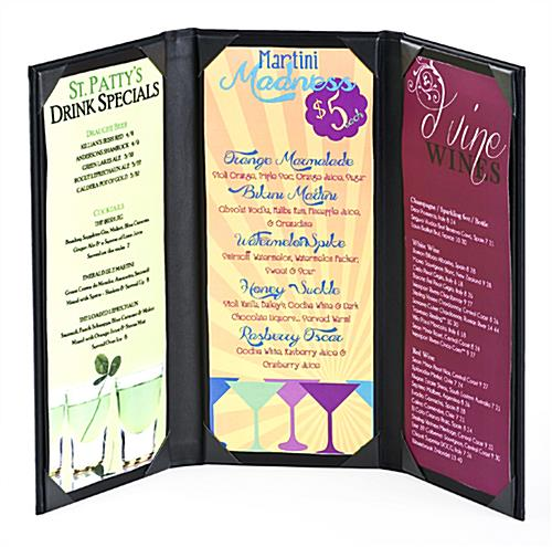 Bar Menu Covers