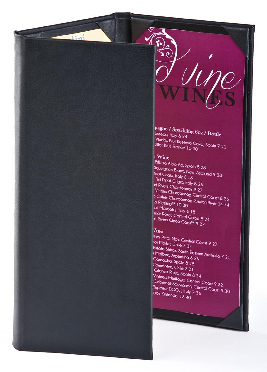 bar menu covers