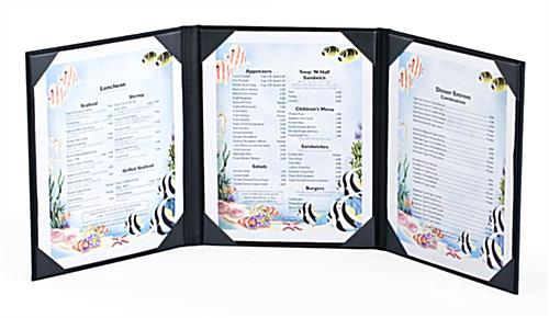 Menu Holders for Restaurants