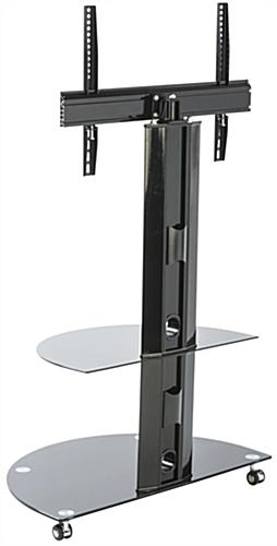 Glass and Metal TV Stand, VESA Compatible