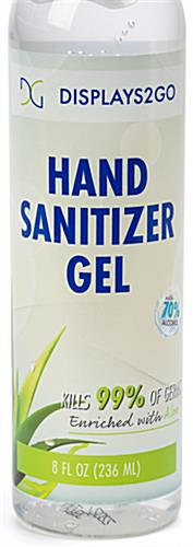Hand sanitizer gel contains 70 percent isopropyl alcohol