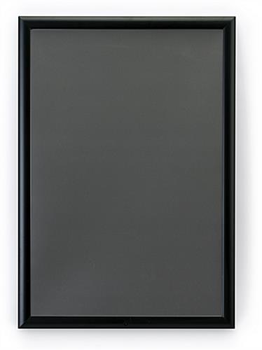 20 x 30 black all weather poster frame locking edges. Black Bedroom Furniture Sets. Home Design Ideas