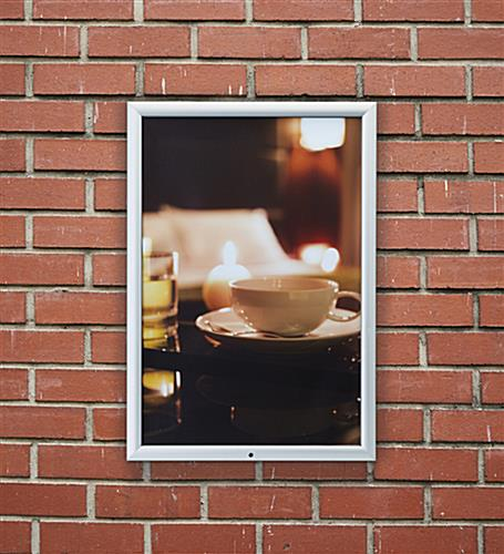 outdoor frame for 20 x 30 posters wall mounted