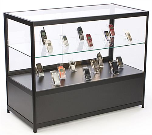 Retail Showcases That Feature A Clear View Of Displayed Items
