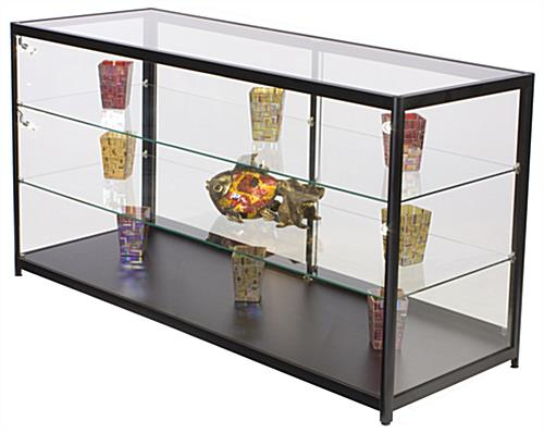 "Retail Display Counter with LED Lights, 38"" Overall Height"