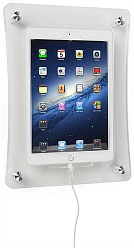 Integrated Charging iPad Wall Dock