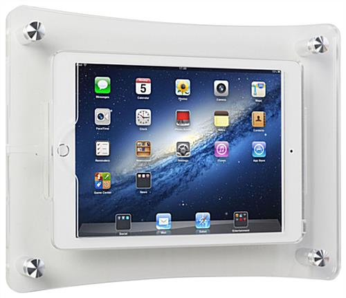 Optional Home Button iPad Wall Dock