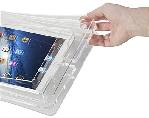 Secure iPad Wall Dock
