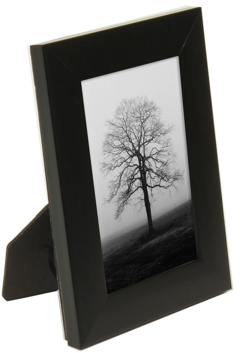 black photo picture frames 4 x 6. Black Bedroom Furniture Sets. Home Design Ideas