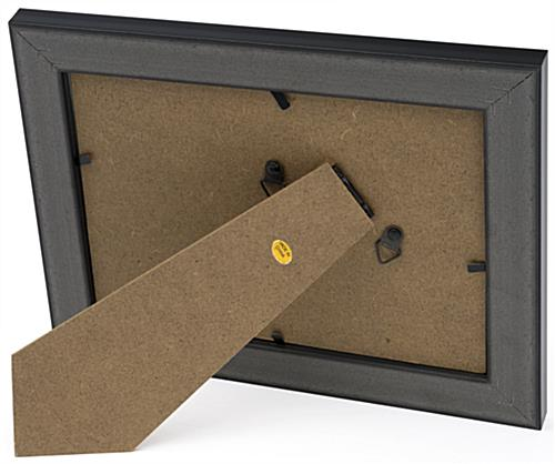 Black 5x7 Display Frame for Tabletop Placement