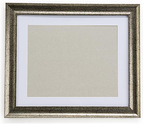 11 x 14 Gold Frame with White Mat