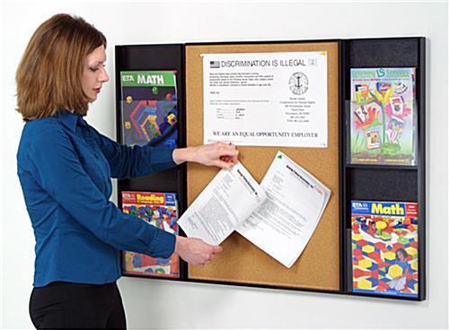 Poster Display Board W Curved 22 X 28 Sign Holder