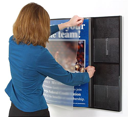 poster display board
