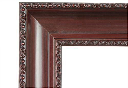 Photo Picture Frame with Carved Edges