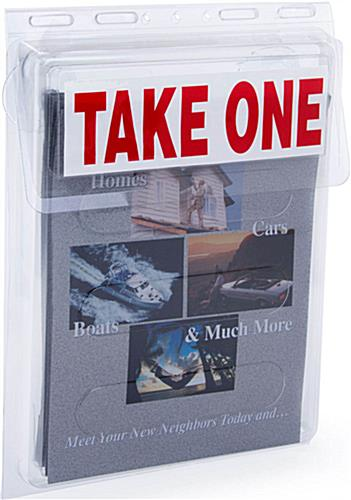 "Take One Box Fits 9""w x 11.5""h"