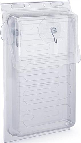 Clear Plastic Vehicle Flyer Box