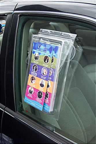 Vehicle Flyer Box in Use