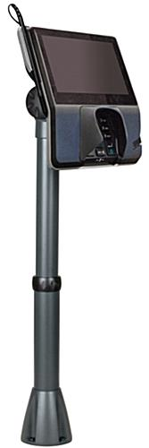 Dark Gray Pole Mount For POS