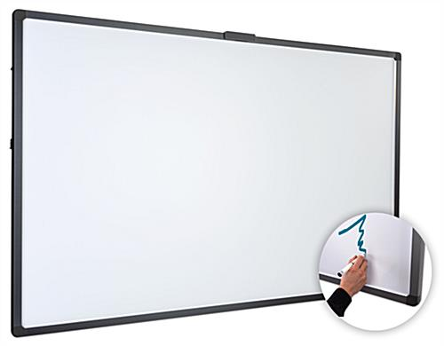 "86"" smart multi-touch whiteboard with 10-point touch optical imaging touch technology"