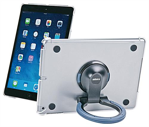 iPad Spin Stand with Black and Gray Ring