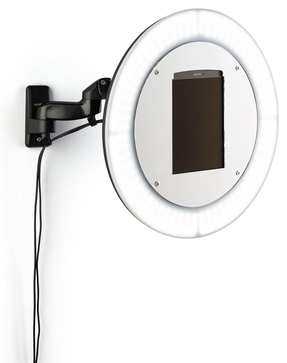 Wall Mount Photo Booth Station Light Ring For 9 7 Inch