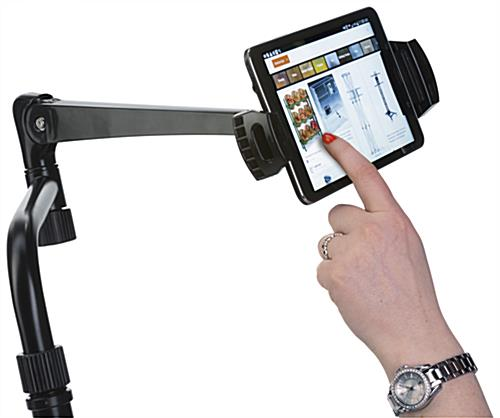 iPad Wheelchair Mount, Tilting