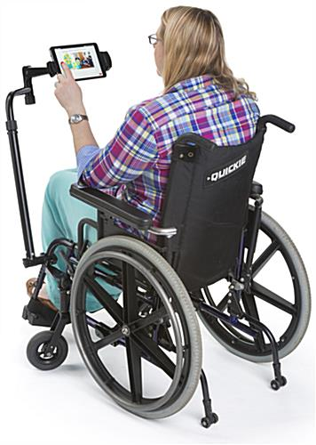 iPad Wheelchair Mount, Rotating
