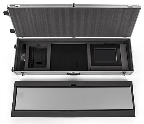 Storage case for IPELIT series stands with 2 layers of foam