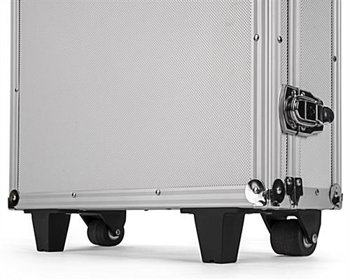 Storage case for IPELIT series stands with 2 nonlocking wheels