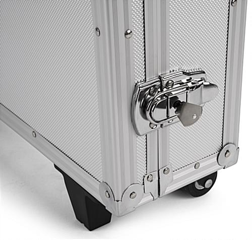 Storage case for IPELIT series stands with 2 locks and keys