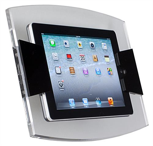 iPad Enclosure in Horizontal Orientation