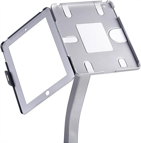 Silver iPad Stand