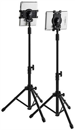 Ipad Tripod Stand Light Portable Folding And Adjustable