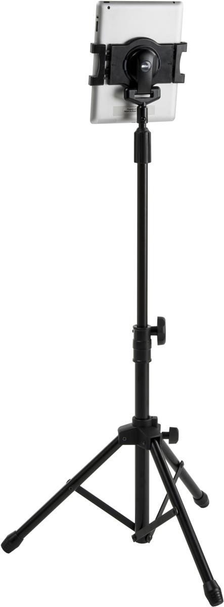 Displays2go Adjustable iPad Tablet Tripod Floor Stand, wi...