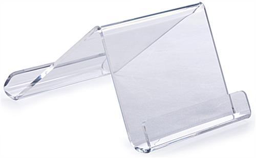 Acrylic iPad Desk Stand Adjustable Countertop Tablet Riser