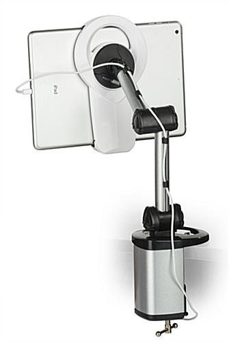 Swiveling iPad Document Camera Stand
