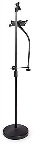 Universal tablet holder mic stand mount for musicians