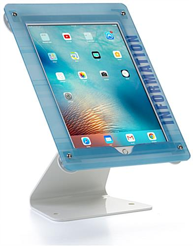 Custom Swiveling iPad Stand for Pro Models