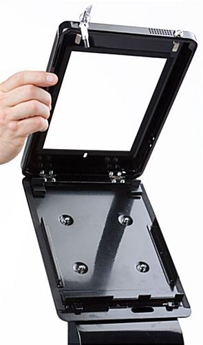 Flip Open iPad Stand with Graphics