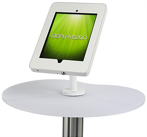Trade Show iPad Display Podium