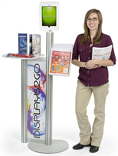 Customized iPad Display Table for Trade Shows