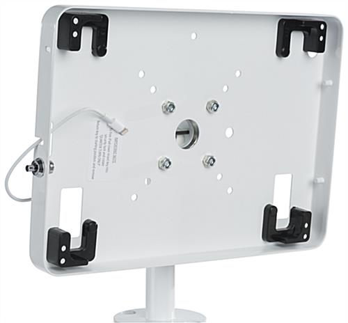 iPad Retail Display Stand with Tilting Enclosure
